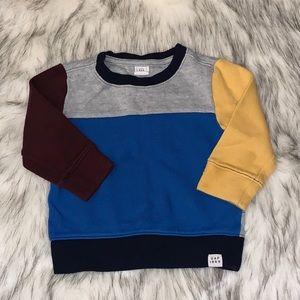 Toddler Boys Color Block Top